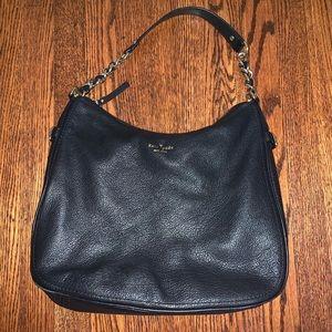 Kate Spade New York Black Slouchy Shoulder Bag